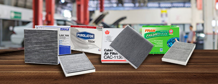 Productos de filtro de cabina para automóviles