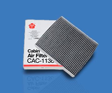 Dos tipos de filtros de cabina con protección microbiana de la marca WIX