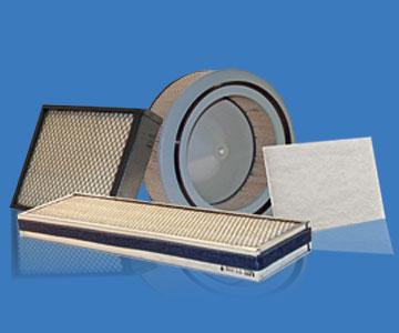 Diferentes tipos de filtros para equipo pesado de la marca WIX